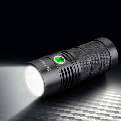 Utorch Sofirn SP36 4 XPL2 6000LM Glare Rechargeable LED Flashlight Waterproof