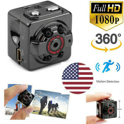 US Mini Hidden Camera Motion Spy Digital Wireless HD 1080P Video Activated Cam