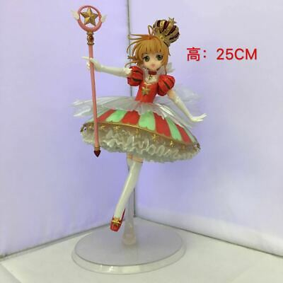 Anime Card Captor Sakura 15 YEARS Kinomoto Sakura Crown 1/7 Figure New In Box