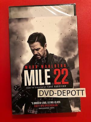 Mile 22 DVD & SLIPCOVER *AUTHENTIC DVD READ* Brand New FAST Free Shipping
