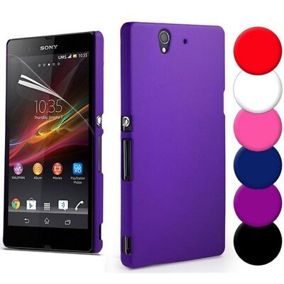 Ultra-thin Shockproof Smooth Matte Hard Cover Case For Sony Xperia All Series