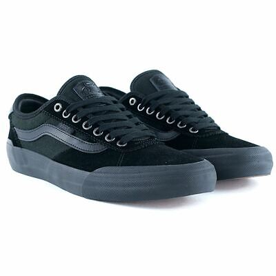 4aa3f38d43 Vans Chima Pro 2 Suede Blackout Skate Shoes