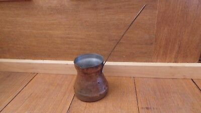 Vintage  Copper Ladel Ladle Pourer Country Kitchen Dipper