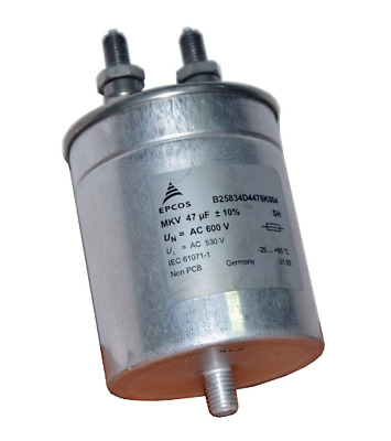 EPCOS AC power capacitor MKV 47uF 60A /1A E 0276