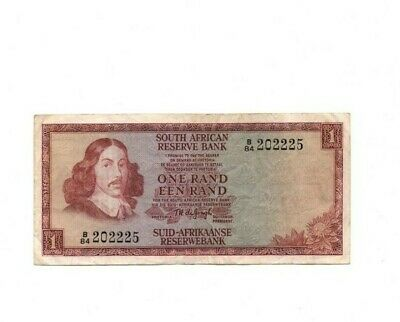 Bank Of  South Africa  1 Land  1973  Vg