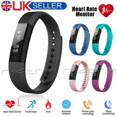Fitness Smart Watch Band Sport Activity Tracker For Kid Girl Fit bit Android iOS