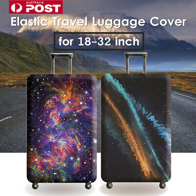 18-32'' Elastic Luggage Cover Trolley Case Suitcase Protector Dustproof Bag AU