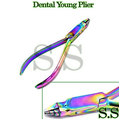 Young Loop Bending Plier Surgical Dental Orthodontic Instruments Multi Rainbow