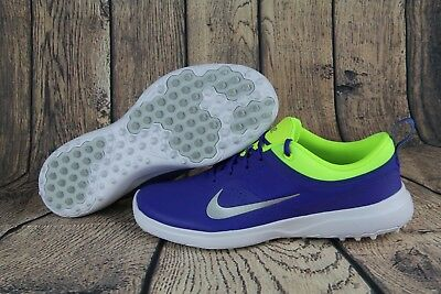 promo code 3936c 41b54 Nike Akamai Golf Spikeless Golf Shoes BlueYellow 818732-401 Womens multi  size