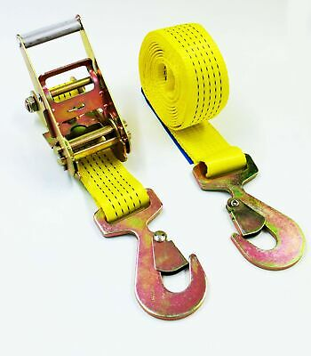 5000kg Ratchet Strap with Snap Hook