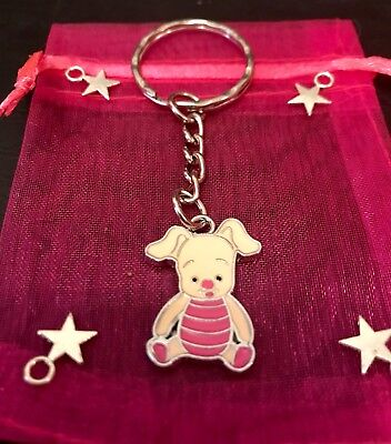 Winnie the Pooh Tiger Piglet inspired keyring keychain gift 546