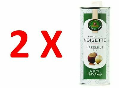 2X Pure Hazelnut Oil 500ml, Lapalisse, The Finest Product