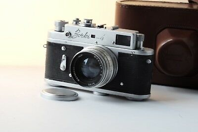 Rare Zorki 4 with Jupiter 8 50mm f2 lens Export edition only produced in 1961