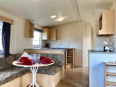 Cheap 12Ft Wide Caravan Sited On The North Wales Coast In Towyn