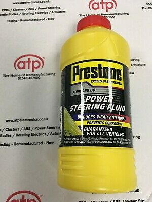 Prestone Universal Power Steering Fluid 355ml  Reduces Wear for ALL Vehicles