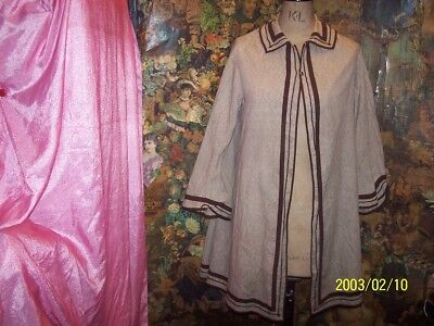A antique victorian jacket.  Lovely wide sleeves. tlc.