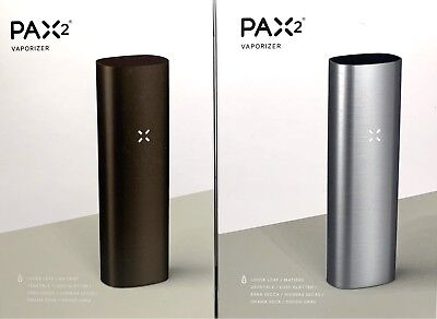 GENUINE Pax 2 Portable Dry Herb Vaporizer **2 YEAR WARRANTY**
