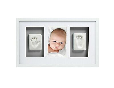 Pearhead Babyprints Newborn Baby Handprint and Footprint Deluxe Wall Photo