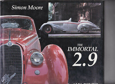 Alfa Romeo The Immortal 2.9 8C2900 A&B Simon More