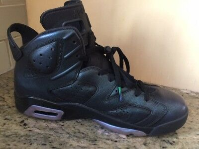 Nike Air JORDAN Retro 6 VI CHAMELEON All Star 907961-015 MEN SIZE 10 BLACK d37af26c4
