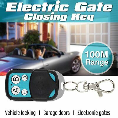 Universal Replacement Garage Door Car Gate Cloning Remote Control Key Fob Case