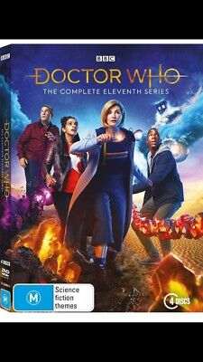 Doctor Who Season Series 11 (DVD, 2019) Brand New Sealed Region 4 Dr Who