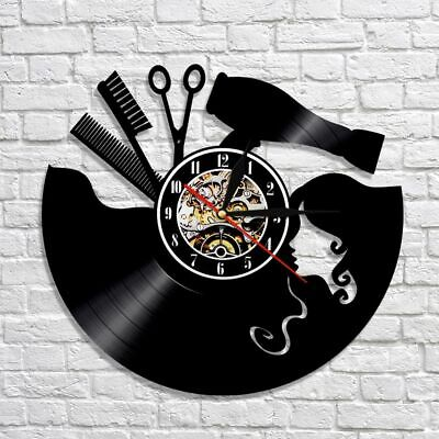 2mm Abstract American Style Wall Clocks Single Face Antique Clock For Home Decor