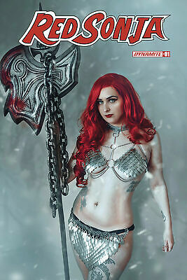 RED SONJA #1  Cosplay Cover E  Dynamite 1ST PRINT