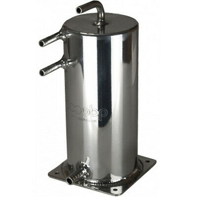 OBP 1.5 Litre Alloy Base Mounted Swirl Pot Polished