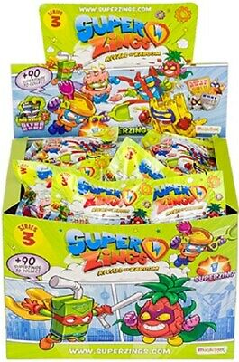 10x Superzings Series 3 (10 Packs Supplied)
