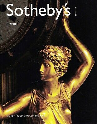 EMPIRE - FRANZ. INTERIEUR um 1800: Sotheby's Paris 04 +results