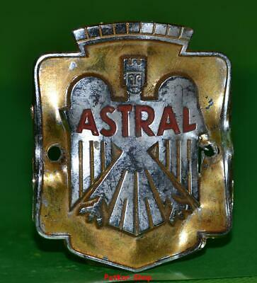 Vintage bicycle - plate   Manufacturers logo - ASTRAL / 5070