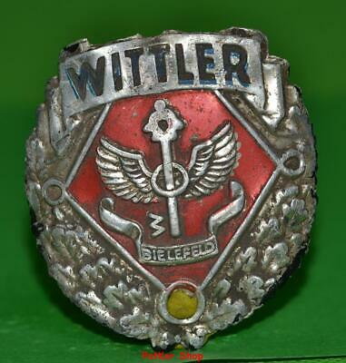 Vintage bicycle - plate   Manufacturers logo - WITTLER / 5066