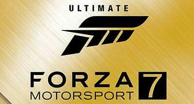 FORZA MOTORSPORT 7 ULTIMATE + FH3 + AUTO ACTIVATION + ONLINE - PC