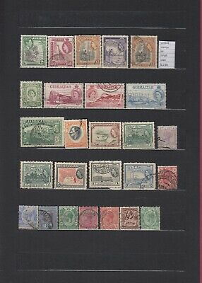 Stamps Lot British Colonies   Used  (L33348)