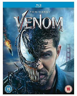 Venom Blu-ray Tom Hardy Michelle Williams Brand New Sealed 5050629481822