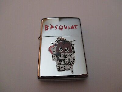 Rare Numbered Limited Edition Basquiat Art ZIPPO circa 2000