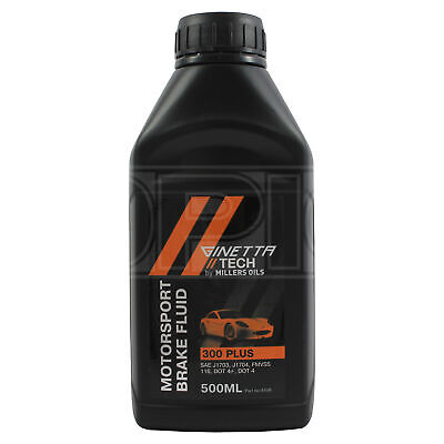 Millers Oils Ginetta Tech 300 Plus Motorsport Brake Fluid - 500ml 0.5L