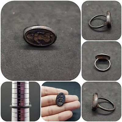 Ancient Roman Bronze very beautiful old Ring # R1