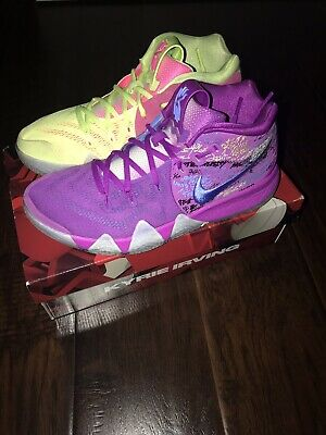 quality design c4db2 2f208 Mens Nike Kyrie 4 Confetti 943806-900 Multi Color US 8.5 Used Great  Condition