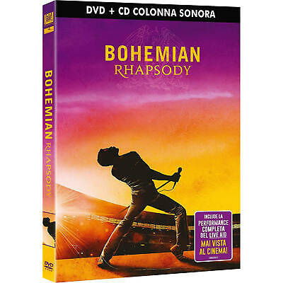 Bohemian Rhapsody The Movie (DVD+ Soundtrack CD Limited Edition)