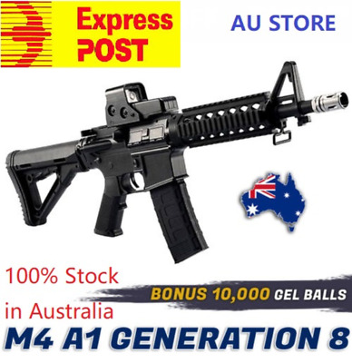 NYLON Upgrade JinMing M4A1 Gen8 Gel Ball Blaster Mag-fed Adult Size AU Store