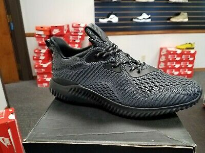 f680537c66287 BRAND NEW IN BOX ADIDAS Men s Running Alphabounce AMS M BW0428 SIZE 8.5  BLACK