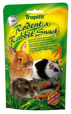 RODENT & RABBIT Tasty SNACK For Hamsters, Guinea Pigs, Gerbils) and Rabbits 110g
