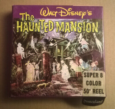 "Walt Disney ""The Haunted Mansion"" Super 8 Reel Movie Disneyland"