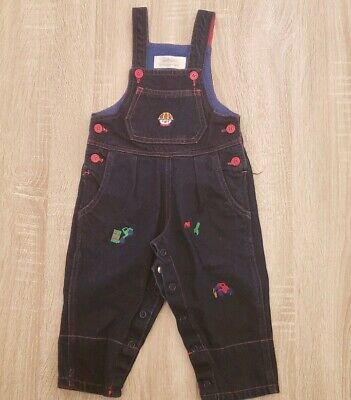 6e4069f068f8 SMALL CREATIONS LORD And Taylor Blue Corduroy Overall Plaid Shirt ...