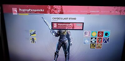 Destiny 2 Cayde's Last Stand Emblem / IN HAND / Digital Code / Same Day Delivery