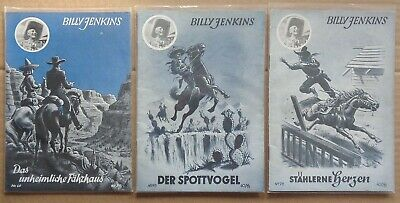 Billy Jenkins  Nr. 60,73,76,87,88,89  (Zust. 1-2)