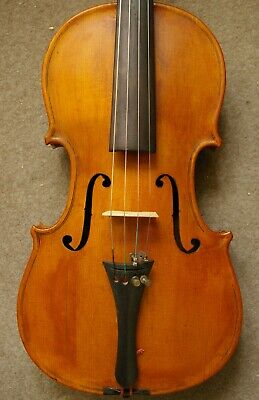 Nice Antique Violin Labeled PIETRO ABBIATI MILANO 1836