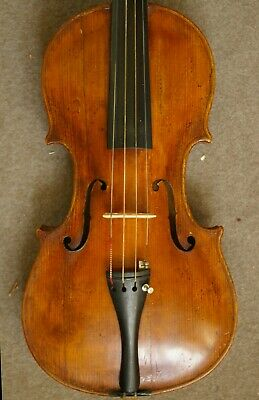 Nice Antique Violin Labeled Josef Klotz in Mittenwalde anno 1795